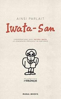 image couverture ainsi parlait iwata san
