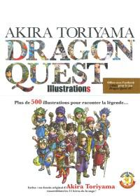 image couverture akira toriyama dragon quest illustrations