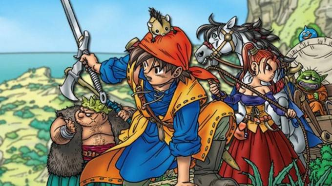 image artwork dragon quest 8