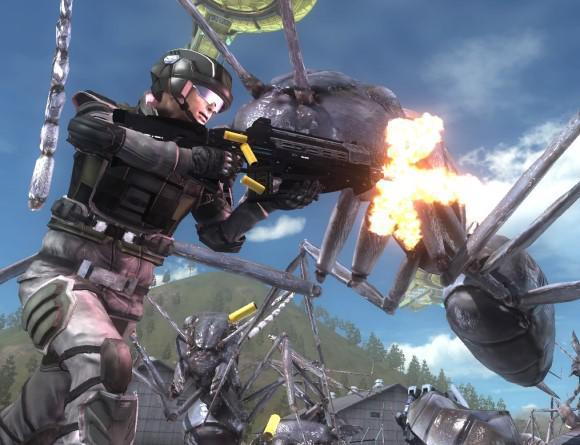 image jeu earth defense force