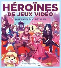 image couerture heroines de jeux video