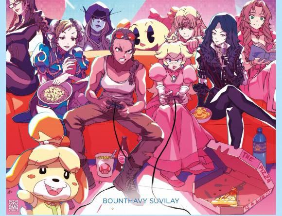 image critique heroines de jeux video