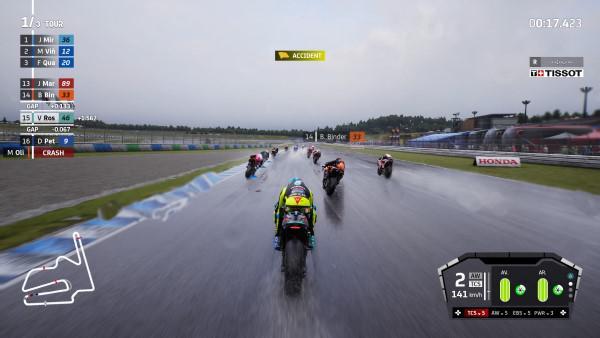 image gameplay motogp 21