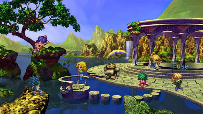 image gameplay saga frontier remastered