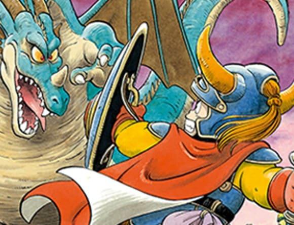 image jeu dragon quest i