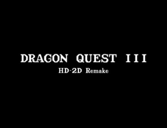 image news dragon quest iii hd-2d remake