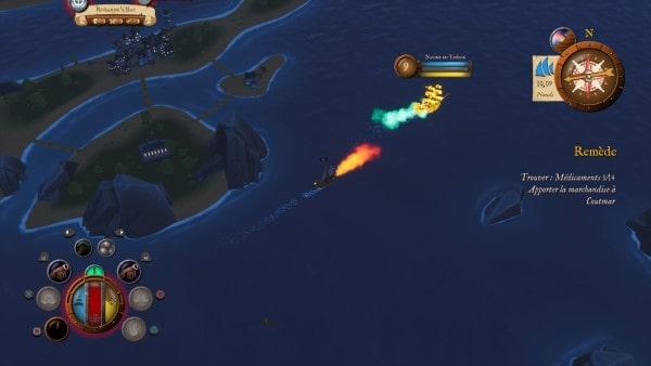 image gameplay king of seas