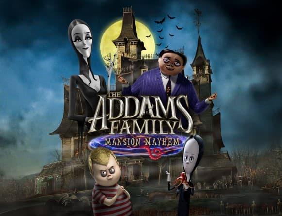 image jeu la famille adams panique au pouvoir