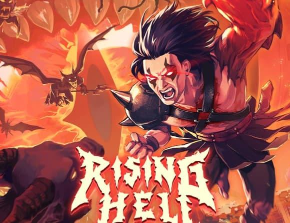 image jeu rising hell
