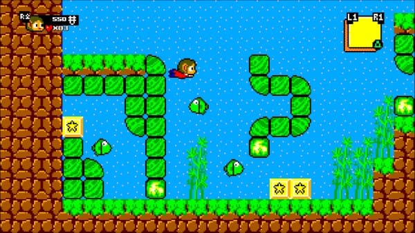 image gameplay alex kidd in miracle world dx