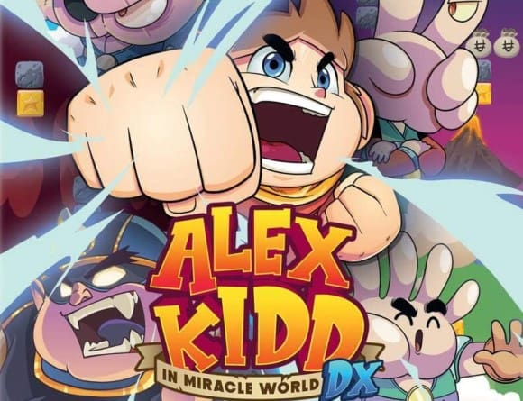 iùage jeu alex kidd in miracle world dx