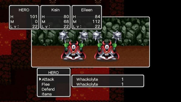 image gameplay dragon quest ii