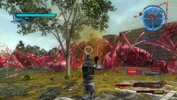image gameplay earth defense force 5