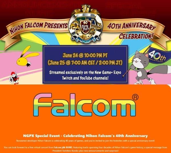 image stream anniversary falcom nis america
