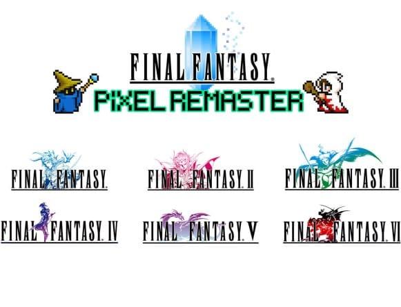 image jeu final fantasy pixel remaster