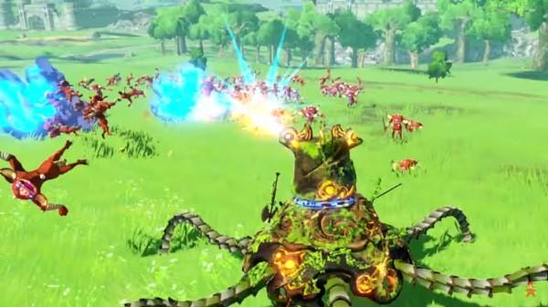 image gameplay hyrule warriors l'ère du fléau