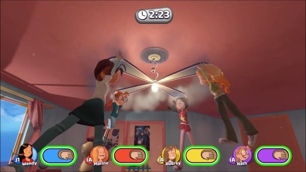 image gameplay les sisters show devant