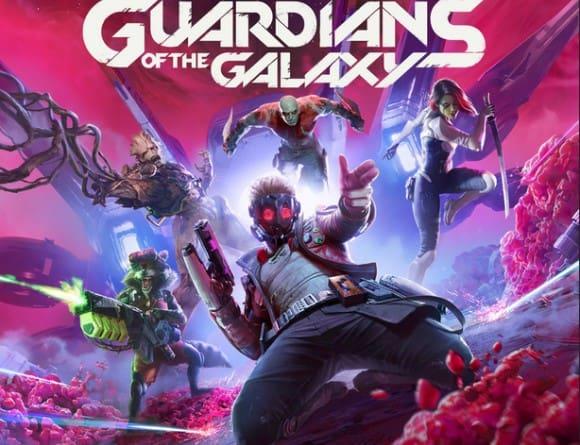 image jeu mavel's guardian of the galaxy