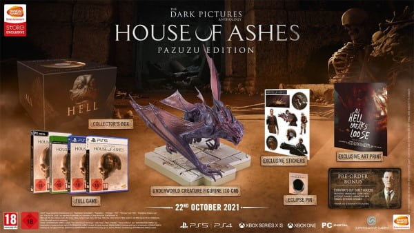 image collector house of ashes the dark pictures anthology