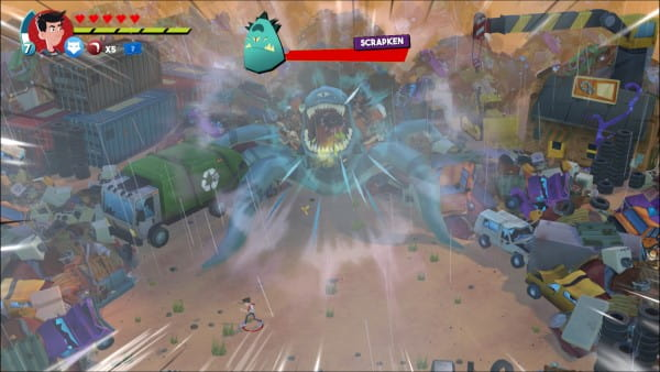 image gameplay the last kids on earth et le sceptre maudit