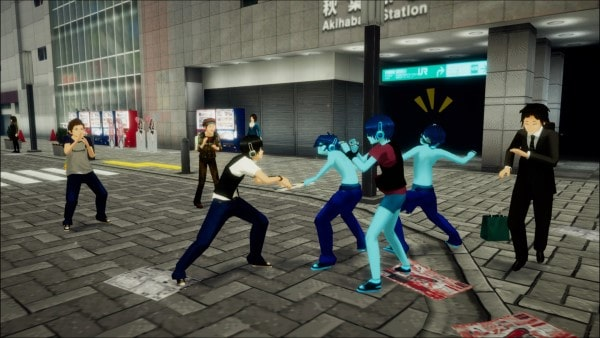 image gameplay akiba's trip