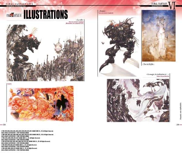 image mana books final fantasy memorial ultimania volume 3