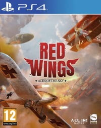image playstation 4 red wings