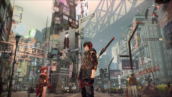 image gameplay scarlet nexus