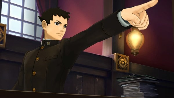 image test the great ace attorney