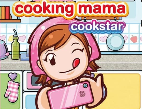 image jeu cooking mama cookstar