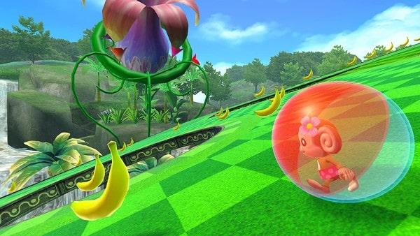 image gameplay super monkey ball banana mania
